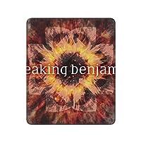 Breaking Benjamin ブレイキング・ベンジャミン マウスパッド 対応 マイクロファイバー 洗える 滑り止め 高級感 耐久性が良い30×25cm