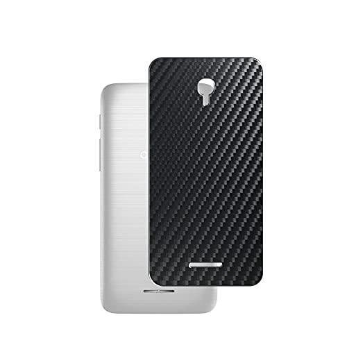 Vaxson 2 Unidades Protector de pantalla Posterior, compatible con alcatel Pop 4 5inch 2016, Película Protectora Skin Piel Negro [No Carcasa Case ]