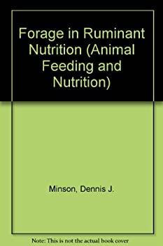 Hardcover Forage in Ruminant Nutrition (Animal Feeding and Nutrition Series) Book
