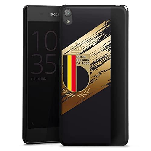DeinDesign Hard Hülle kompatibel mit Sony Xperia E5 Schutzhülle schwarz Smartphone Backcover Trikot RBFA Offizielles Lizenzprodukt