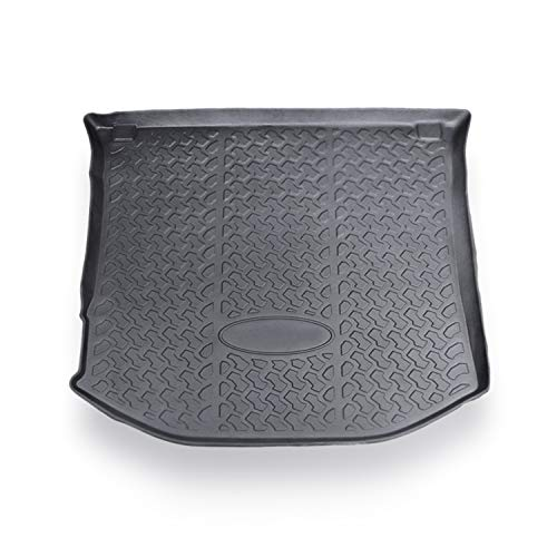 CDEFG Car Trunk Liner Cargo Mat for Grand Cherokee 2020 2019 2018 2017 2016, Trunk Floor Mat Tray, Black Rubber All Weather Protection Scratch Resistance (Black for Cargo)