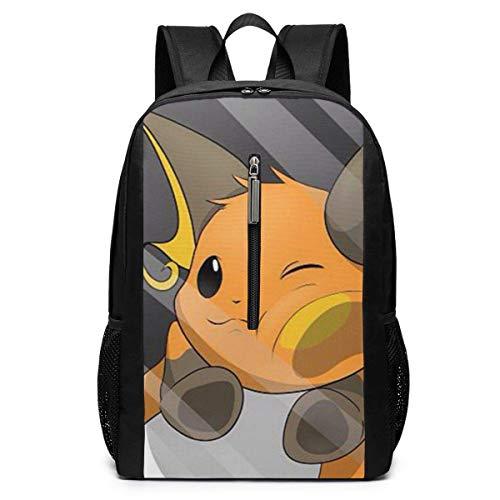 Backpack 17 Inch, Digimon Large Laptop Bag Travel Hiking Daypack for Men Women School Work