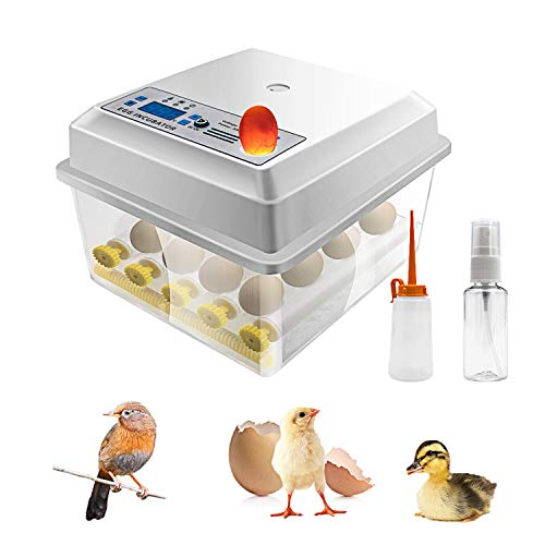 Safego Egg Incubator for Hatching Eggs, Digital...