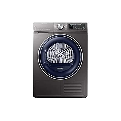 Samsung DV90N62642X QuickDrive 9kg Freestanding Heat Pump Tumble Dryer With Optimal Dry - Graphite