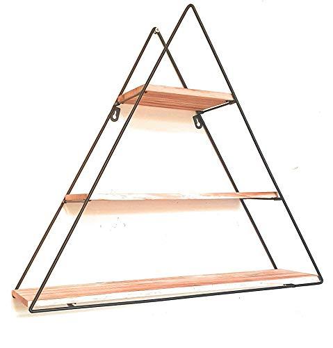 Floating Shelf, 3 Tier Geometric Shelf, Triangle Shelf, Wall Display or Counter top, Minimalist, Modern & Decorative, Spice Rack, Candles, Photos, Books, NikNaks, Tea, Coffee Store & Organize