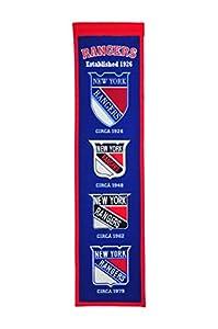 Winning Streak NHL New York Rangers Heritage Banner