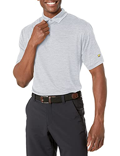 Jack Nicklaus Herren Short Sleeve Melange Polo Golf-T-Shirt, Tradewinds, Medium
