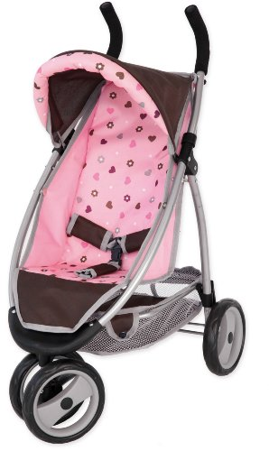 Bayer Design - 39920 - Poussette Jogger Sport - Réglable - Marron - 71 Cm