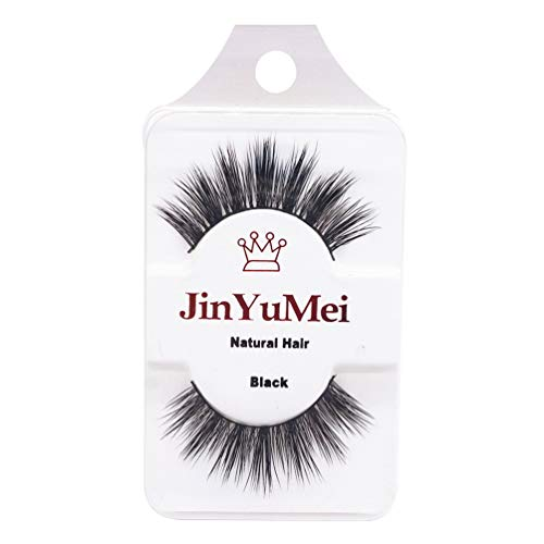 PULABO 3D Natural False Eyelashes Lashes Extensions Makeup SuperiorQuality and Creativetrust