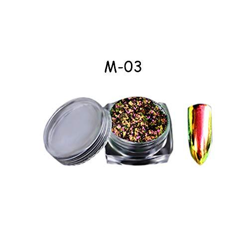 Lucoss Chameleon Pigment Pulver Chrom Pigment Pulver Chameleon Pulver Lack Pulver Farbwechsel