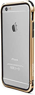 iPhone 6s/6 Plus X-Doria Defense Gear [Military Grade Drop Protection] TPU and Aluminum Protective Bumper, Gold