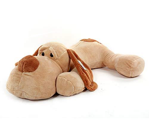 YunNasi Peluche Cane Giocattoli Cuccioli Giganti 60cm Carino Cagnolino Animale di Peluche Puppy Morbidi Regalo Fidanzata Bambino Compleanno Natale
