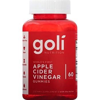 Goli Nutrition Goli nutrition World's First Apple Cider Vinegar Gummies 60 Count, 60 Count