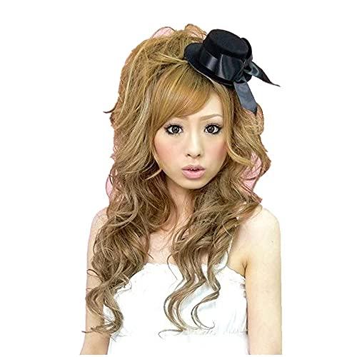 Black Sugar - Mini sombrero de decoración para el cabello, boda, ceremonia,...