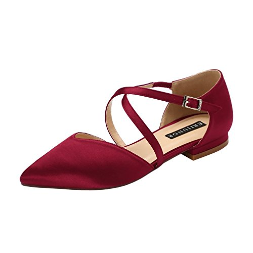 Top 10 best selling list for pointy toe flat wedding shoes