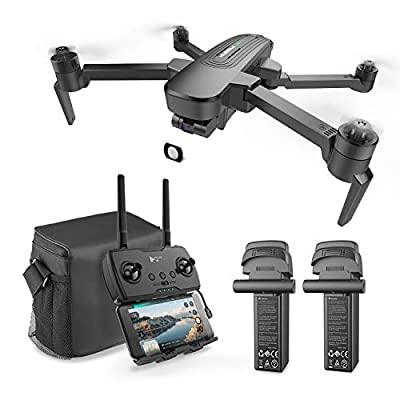Hubsan ZINO Pro+ drone with 4k camera for Adults,39Mins Flight GPS RC Quadcopter with Brushless Motors, Auto Return, Altitude Hold, 5.8G WiFi FPV 8KM Transmission with a bag and two batteries. from Hubsan