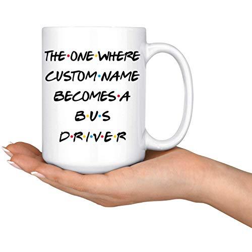 Persoonlijke Bus Driver Koffie Mok Bus Driver Promotie Present Beste Bus Driver Carrière Job Bus Driver Appreciation Gift Mannen & Vrouwen