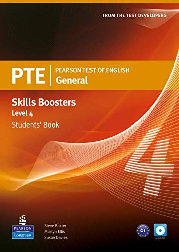 Pearson Test of English General Skills Booster 4 Students' Book and CDPack