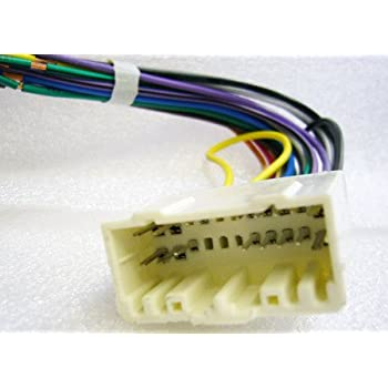 Amazon.com: Stereo Wire Harness Jeep Wrangler 03 04 05 (car Radio Wiring  Installation Parts): AutomotiveAmazon.com