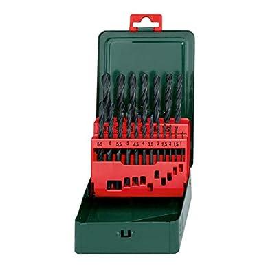 Foto di Metabo 627151000 HSS-R Cassetta con 19 Punte da Trapano, per Metallo [Importato da Germania]