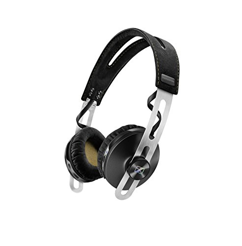 Sennheiser Momentum 2.0 ON-Ear Wireless - Auriculares de Diadema Cerrados inalámbricos (BT APTX/NFC, cancelación de Ruido), Color Negro