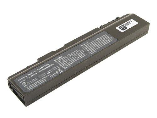 Batterie pour TOSHIBA SATELLITE U200-163, 10.8V, 4400mAh, Li-ion