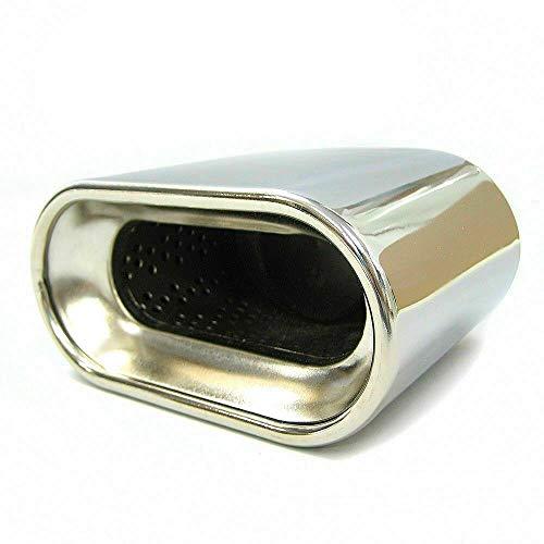 Auspuffblende Auspuff Universell Schalldampf Endrohr Blende Edelstahl bis 57mm Chrom A B C G H J CC 3 4 5 6 7 AutoHobby