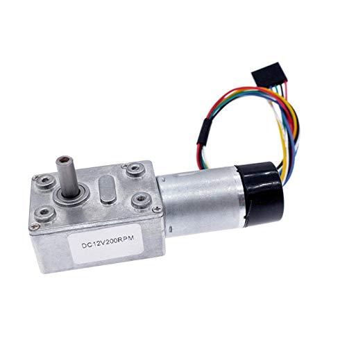 BJLWTQ ZGY370EC DC Motor con codificador Hall 11PPR JGY370 CODE CODE DC12V MOTOR DE ENGRANAJE DE ENGRANAJE DE TORQUE 5-200RPM (Speed(RPM) : 20, Voltage(V) : 12V)