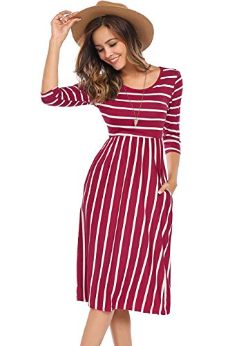 10 best quarter length sleeve dresses women for 2021