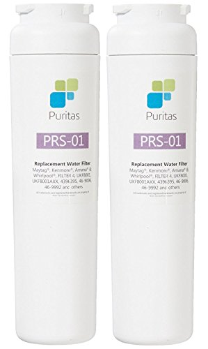 Puritas Made in The USA, UKF8001 Replacement Water Filter PRS-01 (Pack of 2)
