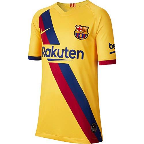 NIKE Breathe FC Barcelona Stadium Away Camiseta, Unisex Adulto, Varsity Maize/Varsity Maize,...