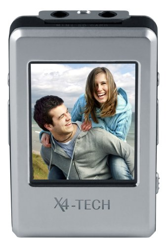 X4-Tech ClipStar 4 GB MP3-Player mit 4,6 cm (1,8 Zoll) LCD, Radio, integr. Akku
