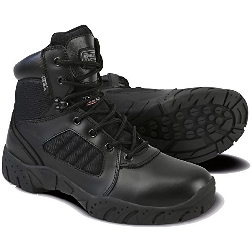 Kombat UK - 6 inch botas tácticas, unisex, negro, 42