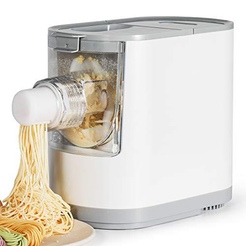 Razorri Electric Pasta and Ramen Noodle Maker - Prepara 2 – 3 porzioni di noodles fatti in casa in 10 minuti o meno - 6 forme pasta