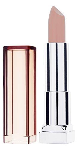 Maybelline New York Make-Up Lippenstift Color Sensational Nudes Lipstick Coffee Craze, 5 g