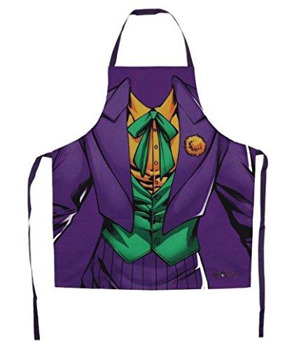 Batman Offizielles DC Comics Originals 'Joker Kostüm' Neuheit Kochen Schürze.