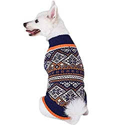 Blueberry Pet Nordic Pattern Dog Sweater