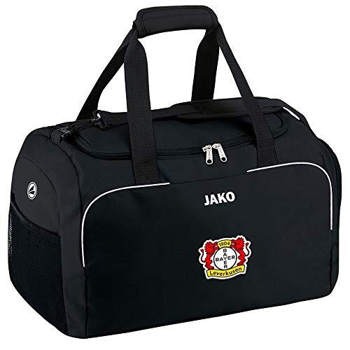 Jako Fußball Bayer 04 Leverkusen Kinder Sporttasche Classico mit Nassfach schwarz Größe 2 Junior