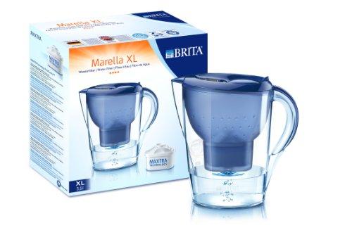 Brita Marella XL Memo blau inklusiv 6 Maxtra Filterkartuschen