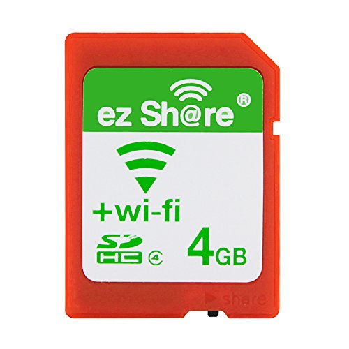 ez Share 8GB 16GB 32 GB Adapter WiFi SDHC Card Class10 SD Card Wireless Camera Memory Card for Camera (16GB)