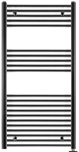 anapont Elektrobadheizkoerper, Cromo, Diritto, Diverse Dimensioni Disponibile, Porta Asciugamani, Asciugatore Asciugamani - 1175h x 750b
