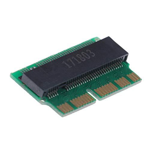 LWSJ Adaptador de Tarjeta de Memoria Adaptador SSD M2 a SSD para MacBook Air M.2 MKEY PCIE X4 NGFF a SSD para computadora portátil de Apple
