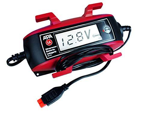 APA 16633 Mikroprozessor Batterie-Ladegerät 6/12 V, 5 A