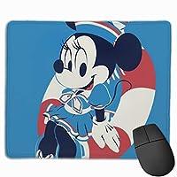 マギー青い マウスパット 小型マウスパッドは25×30cm 洗える 滑り止め 高級感 耐久性が良い