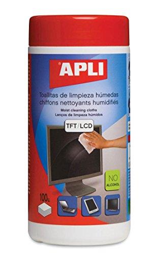 APLI 11302 - Paño de limpieza para electrónica (100 piezas)