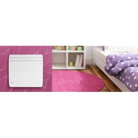 Radiateur actua smart ecocontrol - vertical - 1500w - airelec