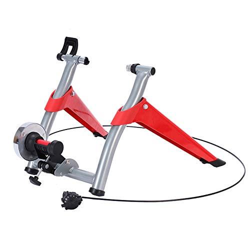 MGIZLJJ Kinetic route smart machine vélo Entraîneur de cyclisme sur route de montagne ligne vélo pliant contrôle équitation Plate-forme magnétorésistance formation Plate-forme Parking Équipement porte