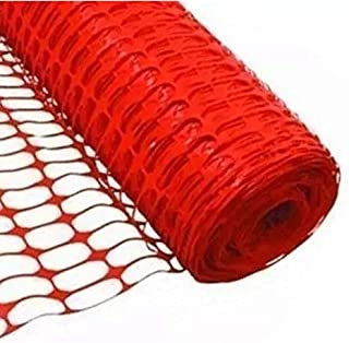 Equicross Orange Plastic Fence, 2 Rolls, 48 Inches High x 96 Feet Long Rolls, Total of 192 Feet