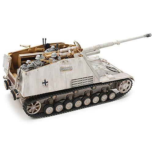 TAMIYA 35335 1:35 Deutscher Panzerjäger Nashorn (4), Modellbausatz,Plastikbausatz, Bausatz zum Zusammenbauen, detaillierte Nachbildung