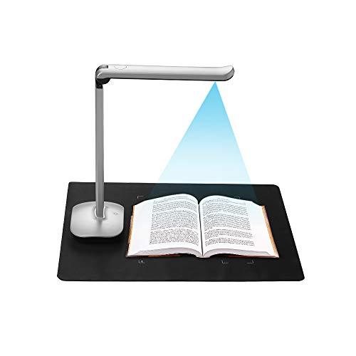 Aibecy Buchscanner Fotoscanner Dokumentenkamera F50 HD Scanner 15 Megapixel A3 und A4 Scangröße mit LED Licht AI-Technologie USB Fußpedal für Windows (Mit dem Fußpedal)